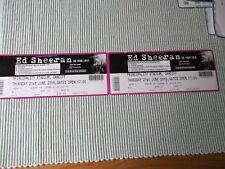 ED SHEERAN 2 used tickets ,21st JUNE 2018,PRINCIPALITY STADIUM,CARDIFF,(13)