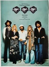 FLEETWOOD MAC 1977 original POSTER ADVERT RUMOURS TRIPLE PLATINUM