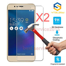 """2Pcs 9H Tempered Glass Film Screen Protector For Asus Zenfone 3 Max ZC520TL 5.2"""""""