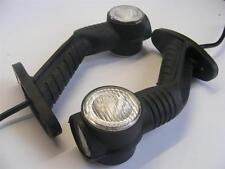 2x LED SIDE OUTLINE MARKER LIGHT 12/24V RED/WHITE/AMBER TRAILER LORRY TRUCK