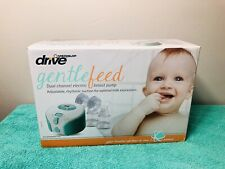 Drive Medical GentleFeed Dual Channel Breast Pump MQ9120 New Other
