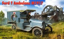 FORD T MILITARY AMBULANCE (FRENCH & POLISH ARMY MKGS) 1/48 RPM BRAND NEW!