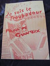 Partition Je sono il trovatore Polka di Chanteix Jo Sony e C.CHARPENTIER