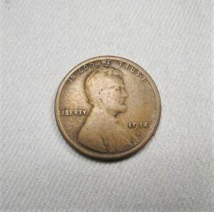 1914-D Lincoln Wheat Cent Coin AK88