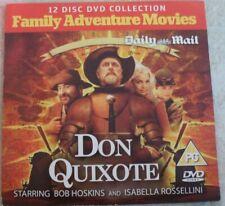 'Don Quixote' Daily Mail Promo DVD Bob Hoskins Isabella Rosellini