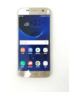 Samsung Galaxy S7 - 32GB - Gold (Unlocked/Verizon) - Fair Condition