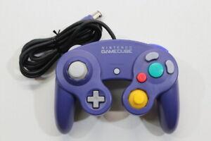 Official Nintendo GameCube Controller Indigo Purple Discolored TIGHT GC GO755