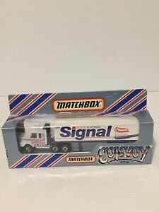 MATCHBOX CONVOY CY16 SCANIA BOX TRUCK SIGNAL TOOTHPASTE.