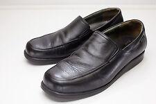 Mephisto 11 Black Slip On Loafers Men's