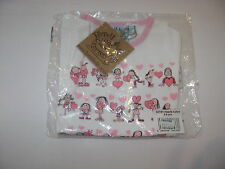 BNWT Tyrrell Katz Girls Hearts Tshirt Age 3-4 years 100% organic cotton