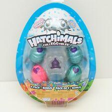 Hatchimals Colleggtibles 4 Pack + Bonus Mermal Magic Toys Whale