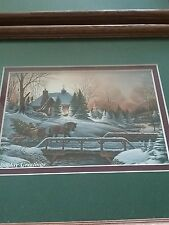holiday greetings by terri redlin artist two pictures