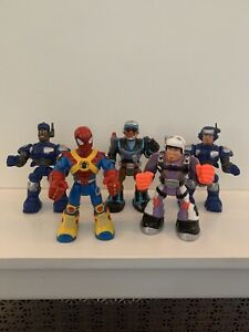 Mattel Rescue Heroes Lot of 5