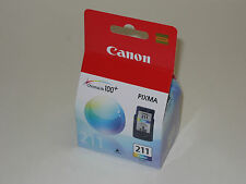Genuine Canon CL-211 ink CL211 iP2700 iP2702 MP240 MP250 MP270 MP280 MP480 MP490