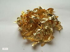 1 gram of gold leaf flakes craft, gold & copper leaf flakes also in shop