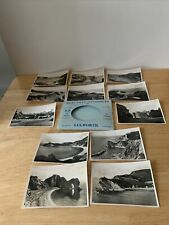 Vintage Pack Of 12 Small Snapshot Photos Of Lulworth