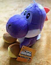 """Super Mario felpa De Peluche Juguete Suave-Púrpura Yoshi-tamaño 7""""/17.5cm Nuevo Y Etiquetado"""