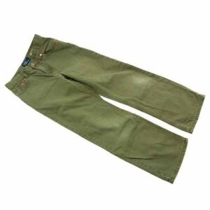Ralph Lauren Pants Green Woman Authentic Used D084