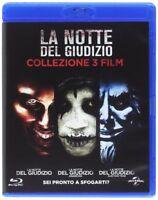 La Notte Del Giudizio - Collezione 3 Film - Cofanetto Con 3 Blu Ray - Nuovo