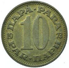 COIN / YUGOSLAVIA / 10 PARA 1973 BEAUTIFUL COLLECTIBLE  #WT31541