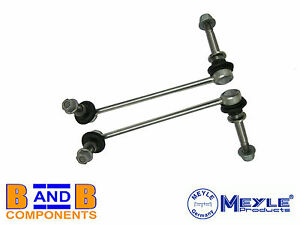 PORSCHE DROP LINK FRONT ANTI ROLL BAR RODS ARM 911 996 BOXSTER 986 PAIR A353
