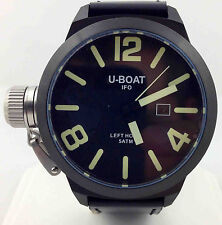 U-BOAT Left Hook IFO Black Dial 45mm PVD Men's Watch 7248