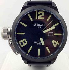 U-BOAT Left Hook IFO Black Dial 45mm PVD Men's Watch 7248