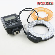 Meike FC-110 LED Macro Ring Flash Light FC110 for Sony Alpha MA A77 A580 A65 A37