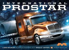 MOEBIUS MODELS 1/25 INTERNATIONAL PROSTAR TRUCK  KIT # 1301 NEW ! FACTORY SEALED