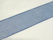 5m x 20mm Organza Ribbon : 09 Dark Blue