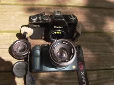 Vivitar 220/SL & 50mmF:1.9  m42 Lens for DSLR m4/3 Nex