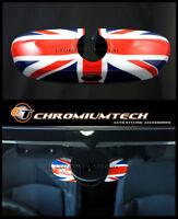 Union Jack Interior Rear View Mirror Cover for MK3 MINI Cooper/S/ONE Manual Dim