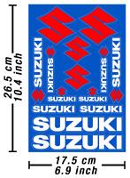 Suzuki Abziehbild Aufkleber Motorrad Vinyl Graphics Stickers Adesivi / 598