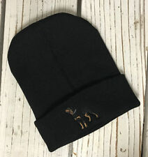 Unbranded Acrylic Fitted Beanie Hats for Men