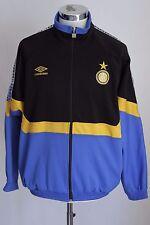 UMBRO FC INTER M giacca zip jacket track top gabber felpa tuta E4223