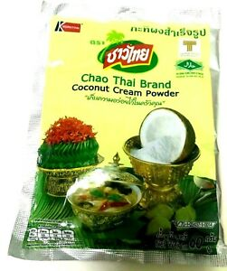Chao Thai Brand Coconut Cream Powder 1pack 60g. in the Water 1cup(150ml)then mix