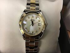 Ladies Rotary Two tone Gold  crystal set Watch  LB03499/40  RRP £130