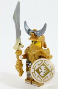 LEGO NINJAGO 70655 DRAGON MASTER WU MINIFIGURE HUNTED GOLDEN ARMOUR - GENUINE