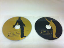 Michael Jackson THIS IS IT 2 Disc Edition Music CD DISCS ONLY in Plastic Sleeves