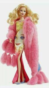 Andy Warhol Barbie Doll Gold Label 2016 Model Muse Damaged Box NRFB DWF57