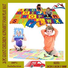 26 PC GIANT CHILDREN ALPHABET FOAM PLAY MAT JIGSAW KIDS GAME FLOOR MATS NEW