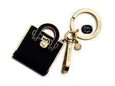 Authentic Michael Kors Key Ring Hamilton Tiny Bag Gold Hardware + Box