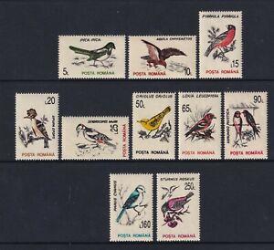 Romania - 1993, Birds set - MNH - SG 5510/19