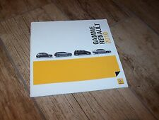 Catalogue  / Brochure RENAULT Gamme / Full line 2010 //