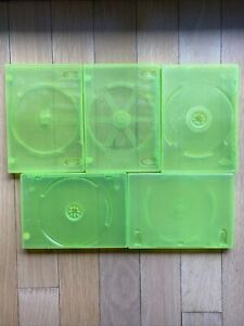 CLEAN Official OEM Microsoft Xbox 360 Empty Replacement Game Cases Set Lot Of 5