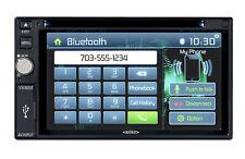 "Jensen VX3022 2-DIN Car A/V DVD Bluetooth In-Dash Receiver 6.2"" TFT Touchscreen"