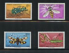 Turkey 1981  #B184-7  insects beetles butterflies   4v.   MNH  K943