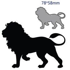 Lion Animal Metal Cutting Dies Cut Die Decoration Scrapbook Paper Card Craft