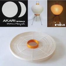 "ISAMU NOGUCHI AKARI 3A ""Exchange Shade"" Japanese Floor Light Lamp Made in Japan"