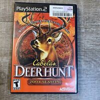 Cabela's Deer Hunt 2004 Season - Playstation 2 PS2 Game - Complete & Tested